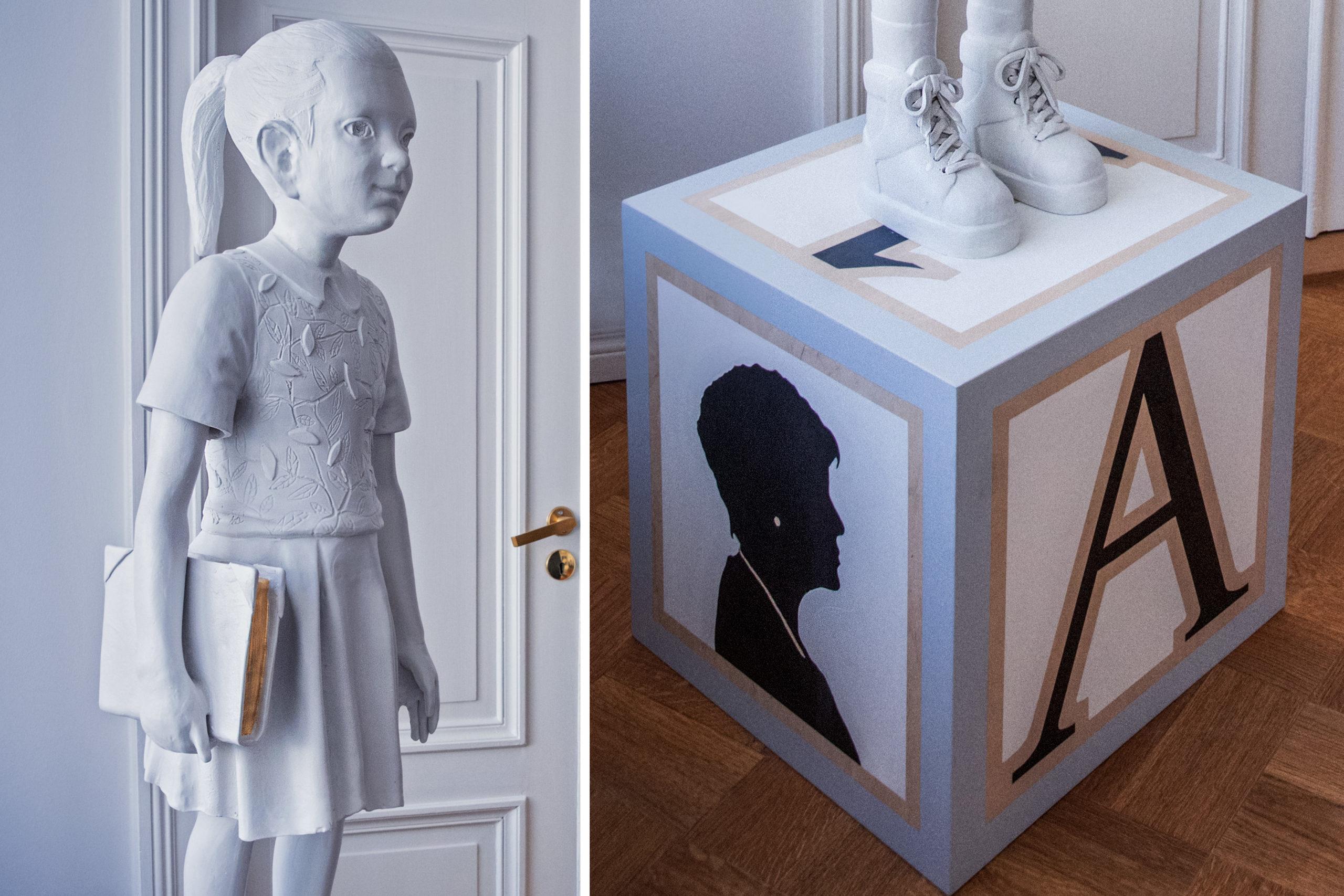 Cover for article 'BMR firar sin avgående vd med en unik skulptur av Kim Simonsson'